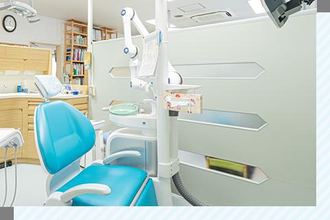 総合歯科クリニックだから安心! 1つのクリニックで むし歯治療やクリーニングも